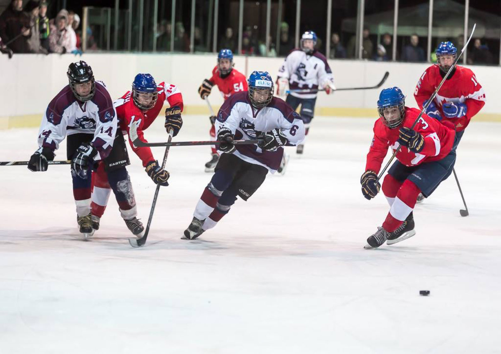 Competitive Hockey Games