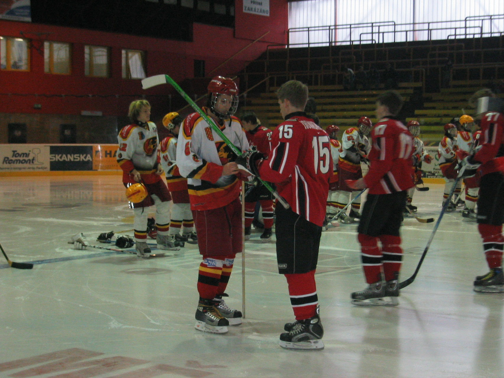 Exhilarating Hockey Action Moore Sports Tours